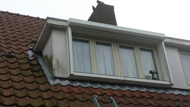 Rolluik op dakkapel monteren
